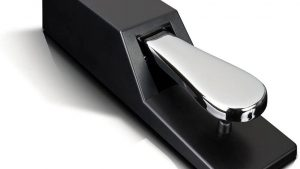 M Audio SP 2 | Universal Sustain Pedal with Piano Style Action For MIDI Keyboards, Digital Pianos & More
