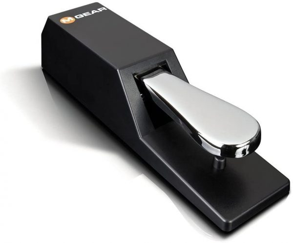 M Audio SP 2   Universal Sustain Pedal with Piano Style Action For MIDI Keyboards, Digital Pianos & More