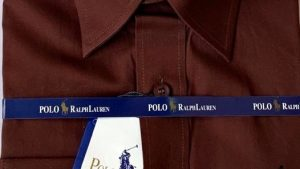 Ralph Lauren Polo Men's Slim Fit Long Sleeve Cotton Shirt