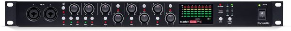 Focusrite Scarlett OctoPre 8-Channel Mic Pre Expansion with 8 ADAT Inputs:8 Analog Outputs 2